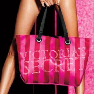 Victoria's Secret Satin Weekender Tote